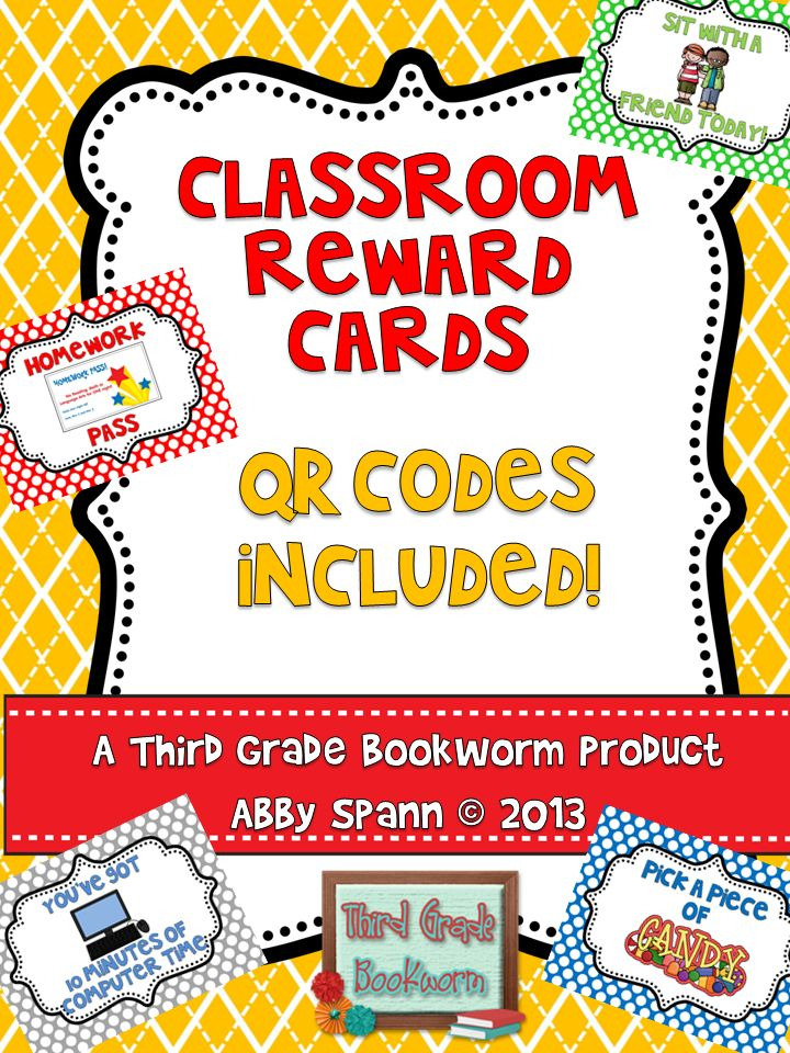 31 best qr code activities images on pinterest classroom ideas qr classroom reward cards qr codes included fandeluxe Choice Image