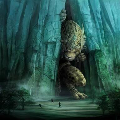 """¿Quién es el dios azteca que provoca los terremotos? - Es considerado el dios en forma de jaguar que corresponde a una de las manifestaciones de Tezcatlipoca, conclusión a la que se ha llegado a causa de su representación física, ya que lleva consigo el espejo humeante y el anauatl o pectoral característicos de la imagen de Tezcatlipoca. También se le conoce como el dios de los terremotos y perturbaciones sísmicas. Su nombre original era Tepeolotlec, refiriéndose a """"la condición de la tierra…"""