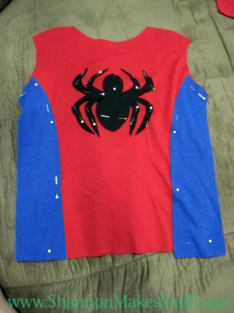 Diy spiderman costume - Visit to grab an amazing super hero shirt now on sale!