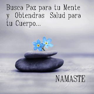 """""""Busca paz para tu mente y Obtendras salud para tu cuerpo"""" #inspiracion #frases…"""