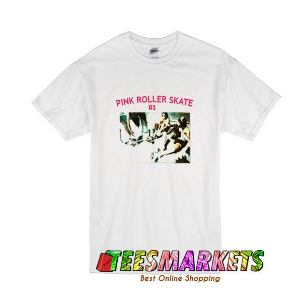 Pink Roller Skate 01 T-Shirt