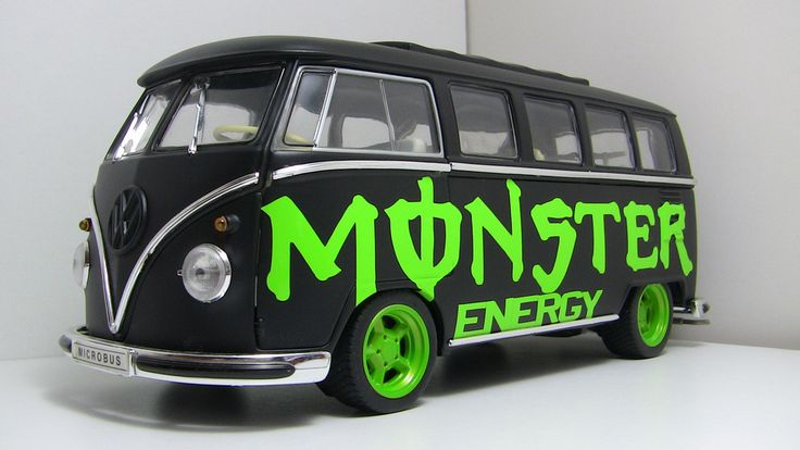 Monster Energy VW Van
