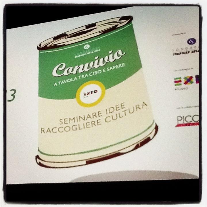 Secondo appuntamento di #Convivio al Teatro Grassi di Milano: #AldoGrasso ha parlato di #cibo in #TV.
