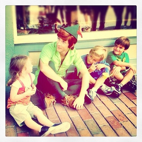 Andrew Ducote, the best Disneyland Peter Pan ever!
