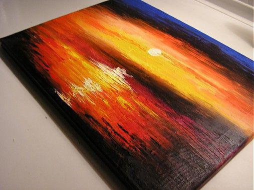 ... Západ slnka ...