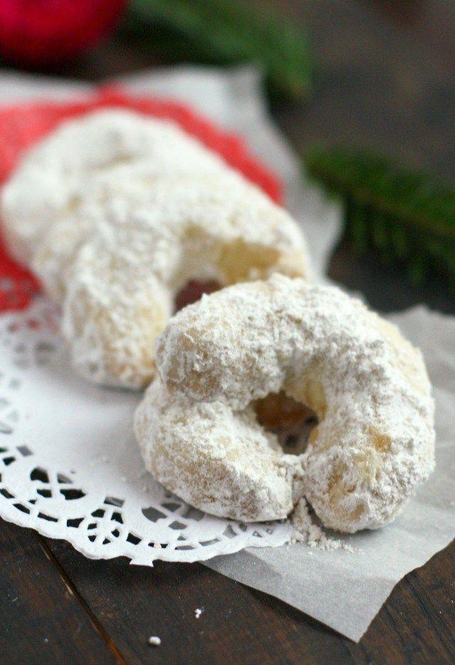 Bohemian Crescent Cookies Vegan Gluten Free