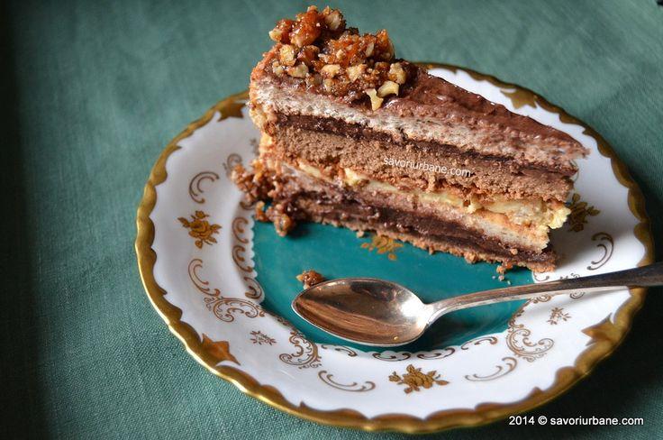 Tort grilias ciocolata nuci caramelizate (7)
