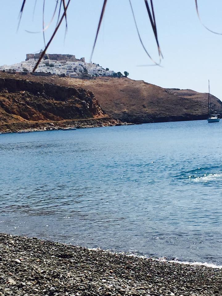 View from livadi beach #astypalaia #greece #travel  photo: Yves Gilson