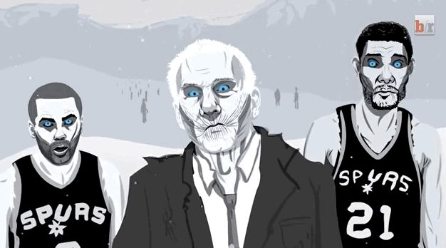 They are the White Walkers of the playoffs: cold, precise, and often deadly. | 24 Reasons You Should Be Cheering For The San Antonio Spurs This Playoff Season