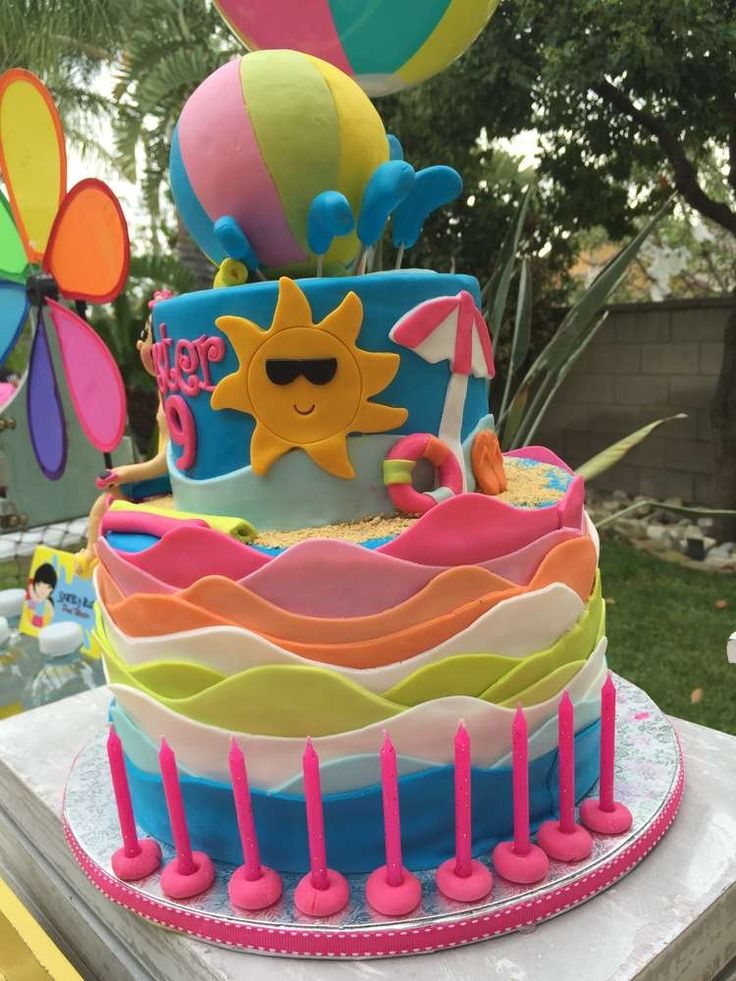 Swimming Pool Summer Party Summer Party Ideas Photo 2 Of