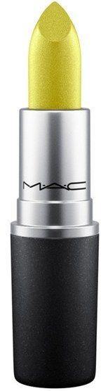 MAC Metallic Lipstick - Angel (F) #mac #metallic #lipstick #green #yellow