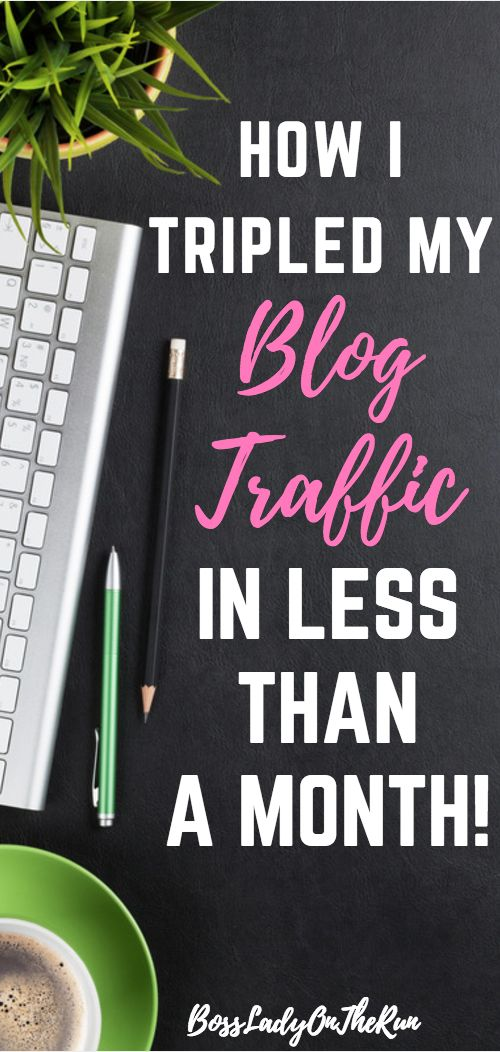 How to increase blog traffic | How to increase blog page views | Pinterest Traffic Avalanche Review | Bossladyontherun.com