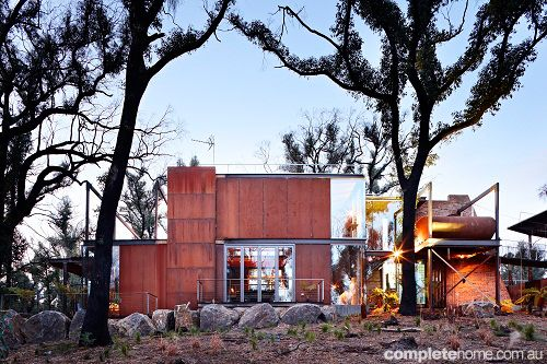 REAL HOME: Bushfire house - Grand Designs Australia   Complete Home
