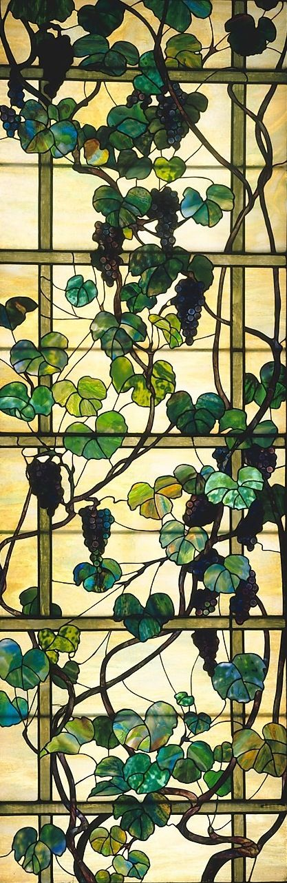 Louis Comfort Tiffany | stained glass window at the MOMA