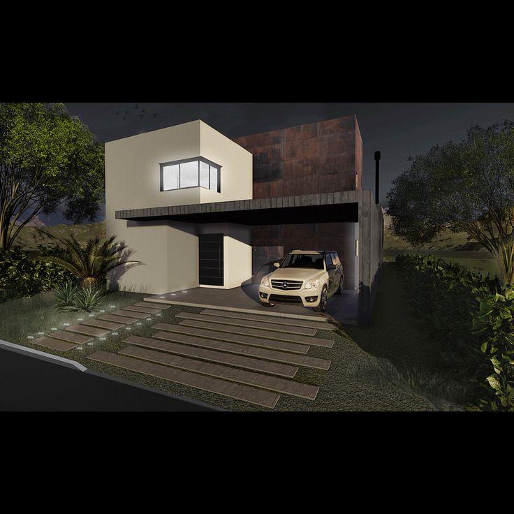 Projeto Residencial: Arq. Daiane Rodrigues | 3D Imagem final: Kassius Viana