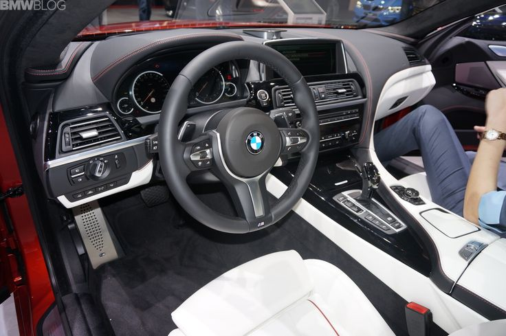One of the most expensive models displayed at the BMW stand in Geneva is a 2014 BMW 650i xDrive Gran Coupe with BMW Individual options