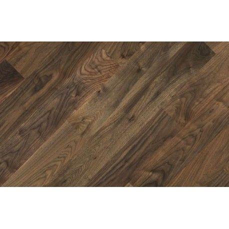 Fertig Deska Orzech Premium - deska która idealnie nadaje się do położenia na ogrzewanie podłogowe, wraz ze swoim wyglądem tworzy niepowtarzalną, ciepłą i naturalną podłogę