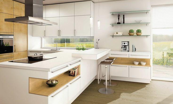 Кухня/столовая в  цветах:   Бежевый, Белый, Коричневый, Светло-серый.  Кухня/столовая в  стиле:   Минимализм.