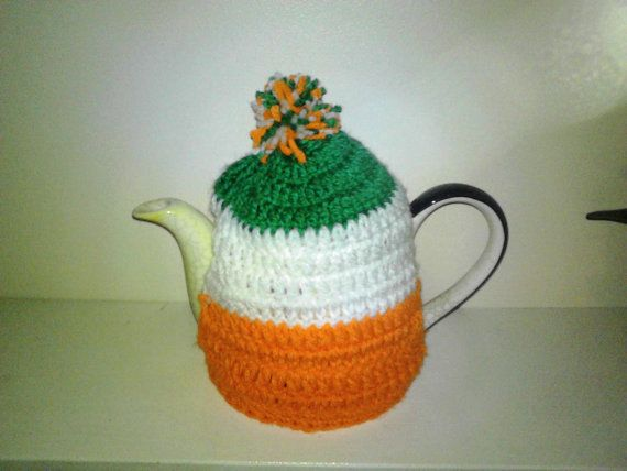 st Patrick day tea cosymedium large cosyirish tea by crochetfifi