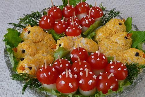 Кулинария рецепты закусок салатов