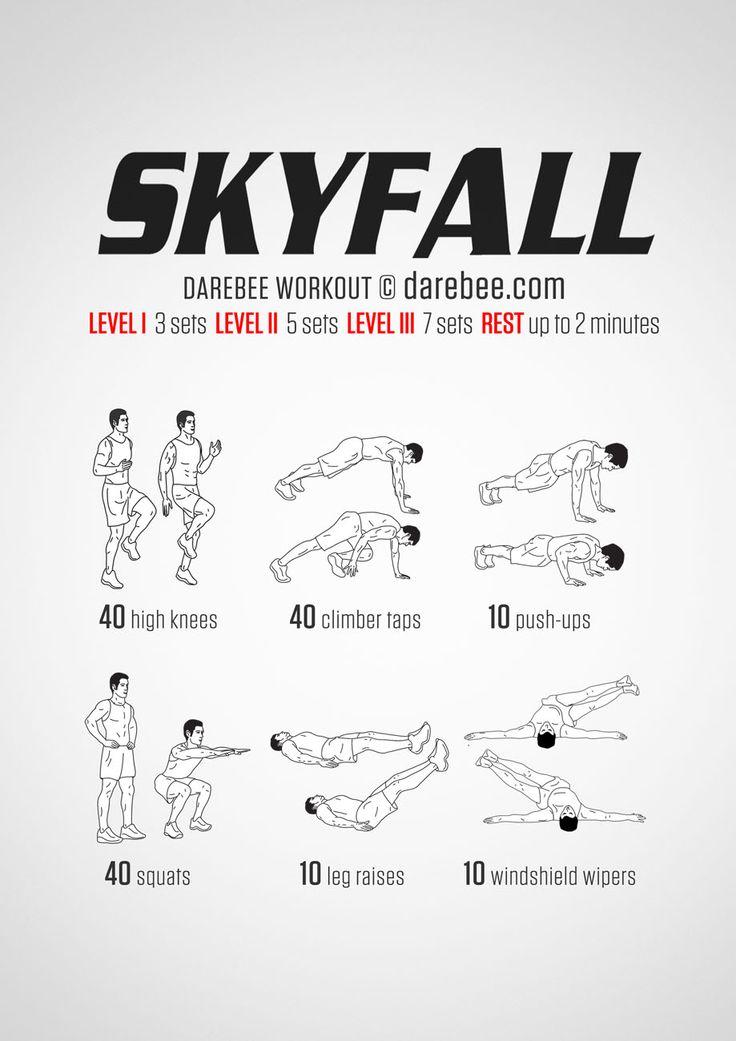 Skyfall Workout