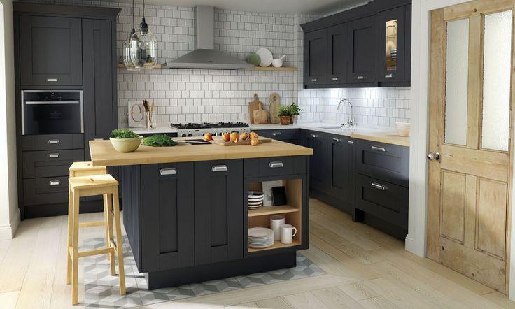Milbourne Charcoal kitchen