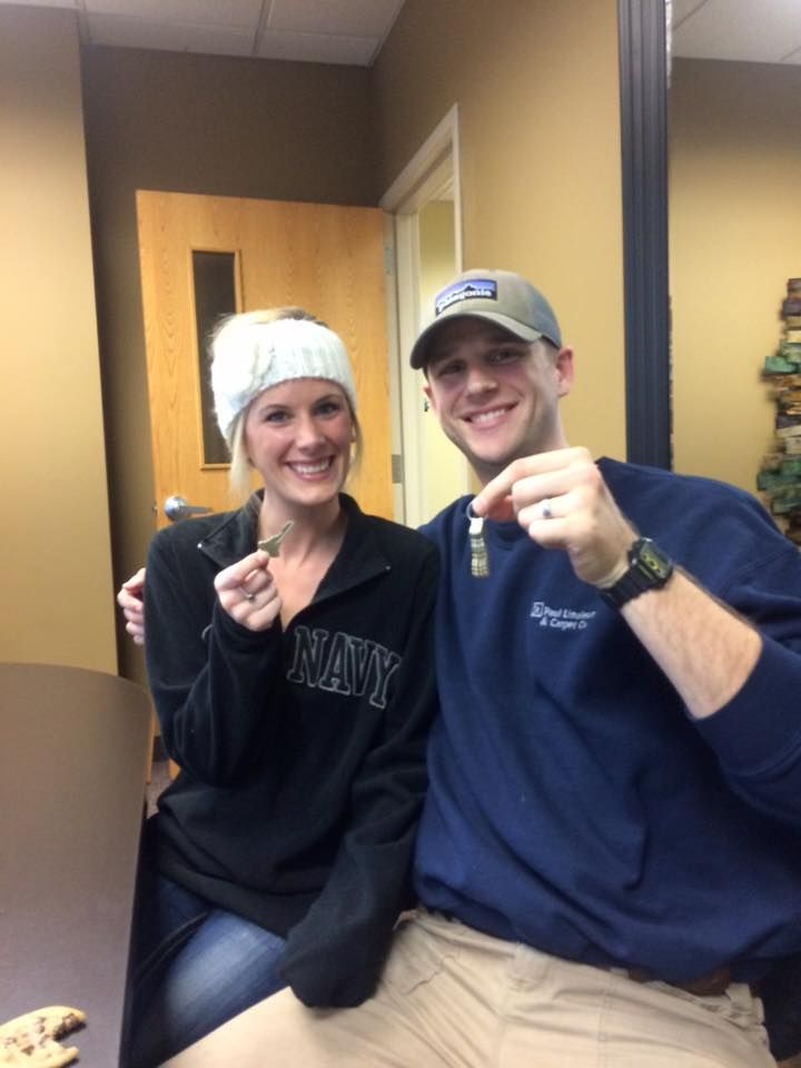 Coon Rapids MN  The newlyweds are now homeowners! Congrats Steph & Tyler