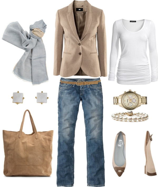 Fall.: Women Fashion, Casual Friday, Casual Fall, Jackets, Dresses Up Jeans, Fall Styles, Business Casual, Polyvore Spring Work Outfit, Styles Boards