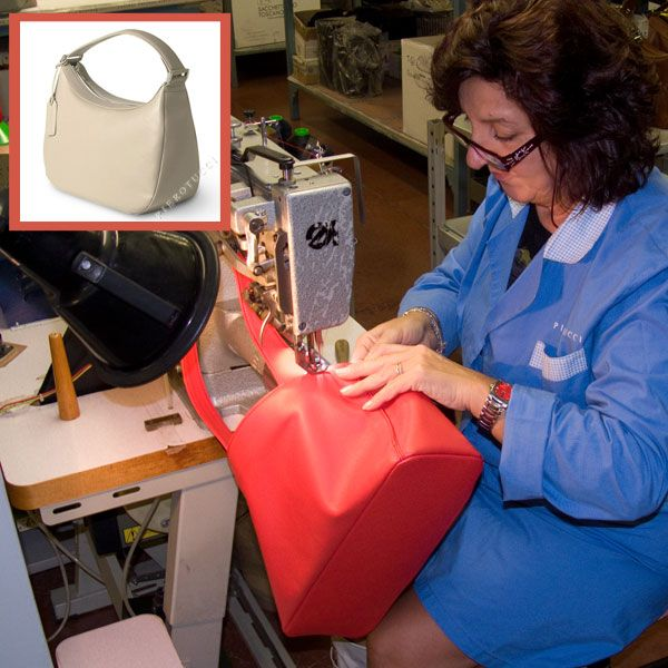 Full range of new colors online this afternoon - Marina is preparing the last of the batch!  http://www.pierotucci.com/bags/handbags/