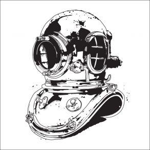 Diving Helmet - Transparent Price 6,5 € Dykker Hjelm - Gennemsigtig folie. Pris 45 dkk. #ocean #diver #sea #hav #vand #water