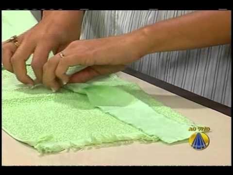 Bolsa toalha de mão | Sabor de Vida 13.05.2011