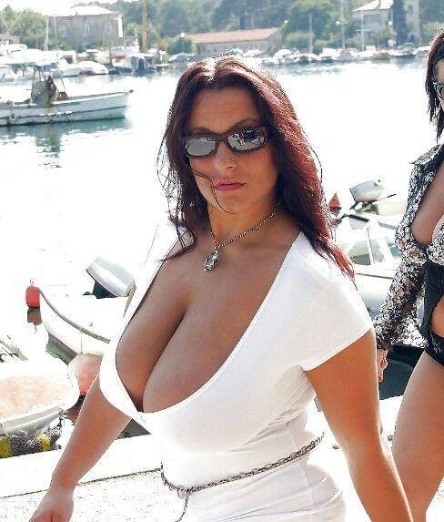 Busty chubby boobs heavy