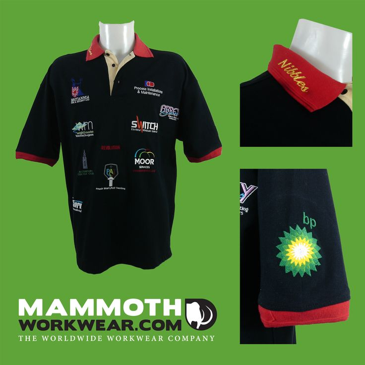 This colourful promotional polo shirt from our shop, brilliantly demonstrates how versatile and effective embroidered personalisation is. It's the professional finishing touch to your workwear uniform and makes your brand stand out and get noticed.