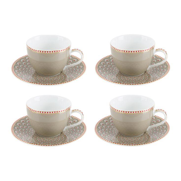 Die besten 25+ Kaffeetassen set Ideen auf Pinterest Cappuccino - edles geschirr besteck porzellan silber