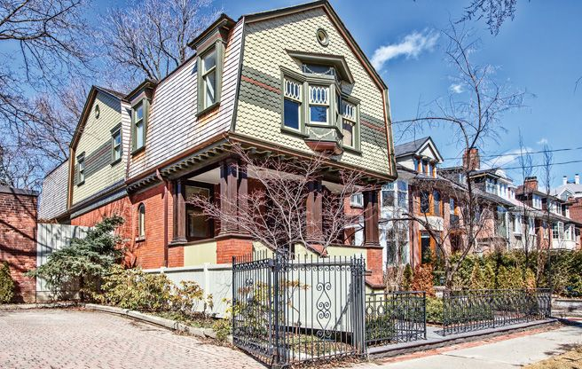 $3.4 million for an Annex home that looks old, but in a good way.