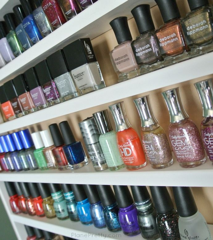 Nail Art Storage Ideas: 17 Best Ideas About Nail Polish Shelves On Pinterest