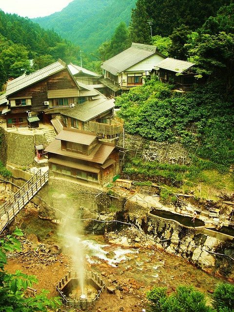 Jigoku-dani Onsen #nagano #japan