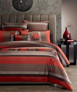 burnt+orange+comforter+set | ... Pce SANTA FE Burnt Orange Jacquard~QUEEN /KING Size Comforter Set