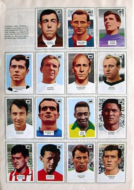 "Temporada 1967-68. Album ""Contamos Contigo"". Cromos ""La Cibeles""."