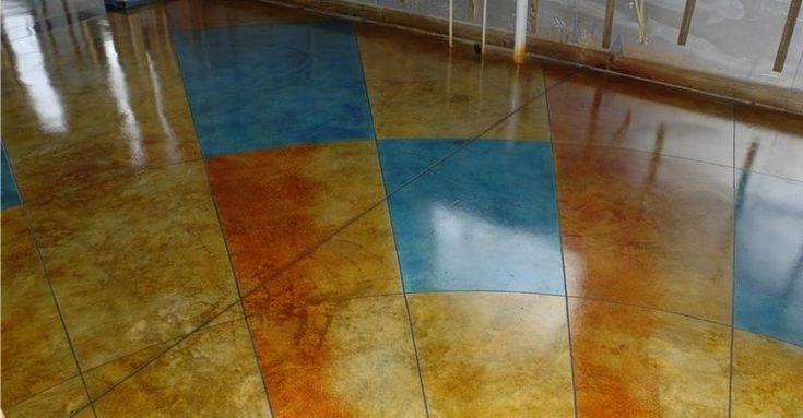 Home page for concrete dye info