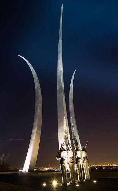 U.S. Air Force Monument  Washington D.C. - never seen this monument