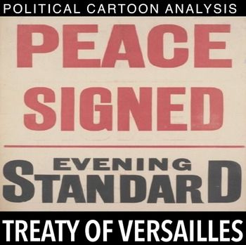 an analysis of the treaty of versailles after the world war one The causes of wwii are rooted in the aftermath of wwi and the effects of the  treaty of versailles, which ended the first world war one of the many provisions  of.