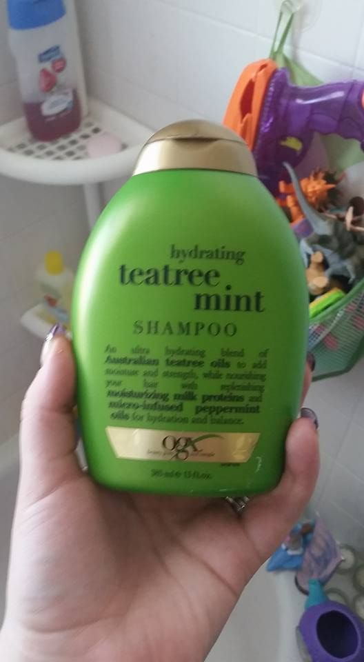 """So I don't know if my parent friends have heard, but there is apparently a lice epidemic in schools this year with a new breed of them dubbed """"super lice"""" and they are supposed to be resistant to OTC lice shampoos. I found out that tea tree oil is a good natural repellent for them. Walmart sells this shampoo for about $7. My mom has used it on Becca and she never got them, so it most be good! Pass along if you have friends with kids cause as all parents know, lice are a pain in the butt to…"""