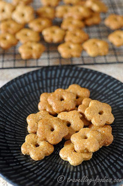 Soba boro (buckwheat cookies). Recipe.