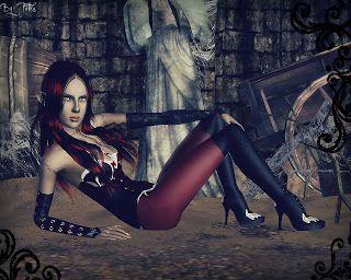 Falcora Sims: Black Widow ( Černá vdova ) http://thesims3petka.blogspot.cz/