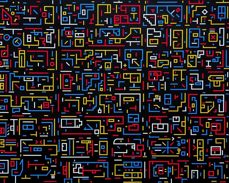 City DNA paintings