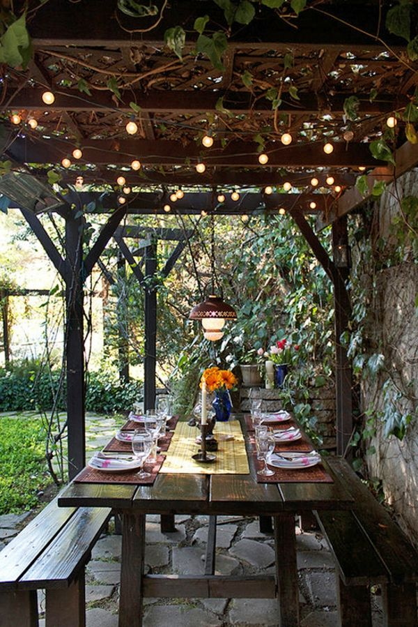 Best 20 guirlande lumineuse exterieur ideas on pinterest - Guirlande eclairage exterieur ...