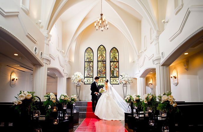 会場案内 - 京都の少人数結婚式ならセント・ジェームズ・チャーチ