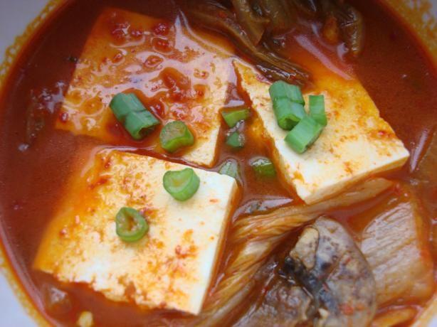 Kimchi Jjigae (Korean Kimchi Soup) | Recipe