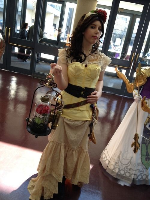 steampunk Belle